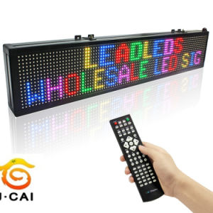 Wholesale Outdoor P10 Red LED Module LED Scrolling Sign pictures & photos