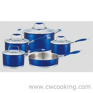 Deluxe Cookware 9PCS Stainless Steel Cookware Set pictures & photos