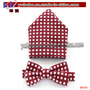 Jacquard Bowtie Men Polyester Bow Tie Woven Tie (B8108) pictures & photos