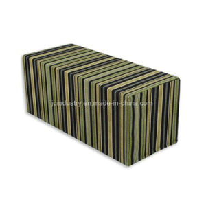 Logo Printing Foam Cube Chair pictures & photos