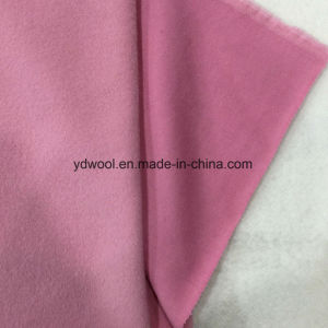 Alpaca Style Woolen Fleece Wool Fabric Greige pictures & photos