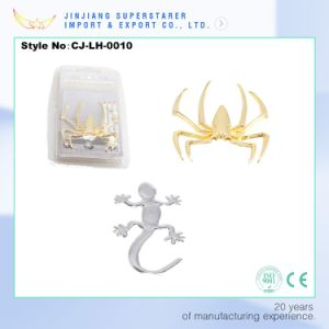 Metal Car Sticker, Silver Gecko 3D Sticker on Car Accessory pictures & photos