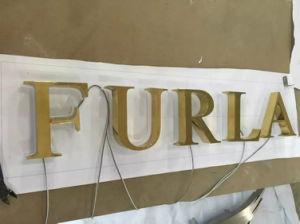 Illuminated Non-Illuminated Metal Wood Aluminum Stainless Steel Logo Interior Signage pictures & photos