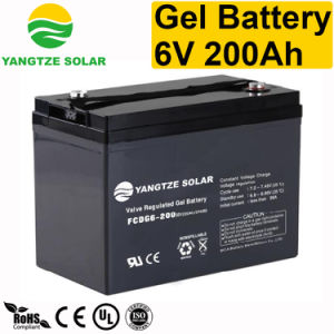 Super Power 200ah 6 Volt Battery for Folklift pictures & photos