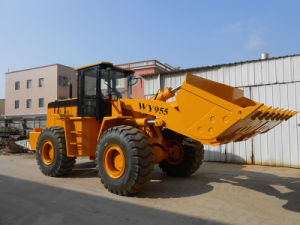 5t Double Rocker Arm 3m3 Wheel Loader with Weichai Engine pictures & photos