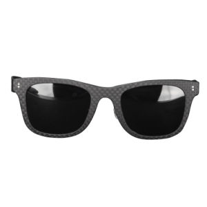 Eco-Friendly Handmade Fashion Custom Logo Print Carbon Fiber Sunglasses pictures & photos