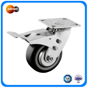 Heavy Duty 200 Kg Capacity Full Lock Plate Casters pictures & photos