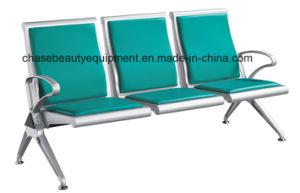 Hot Sale PU Cushion Public Waiting Chair pictures & photos