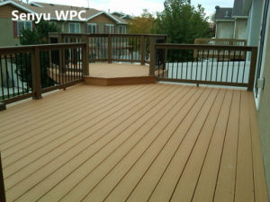 Outdoor WPC Hollow Flooring (SY-02) pictures & photos