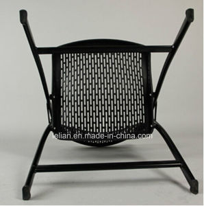 Smart Poly Folding Chair with Iron Legs (LL-0066) pictures & photos