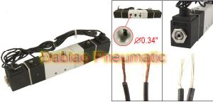 4V130c-06 12VDC 2 Head 3 Position Electromagnetic Solenoid Valve 1/8′′ Wire Lead pictures & photos