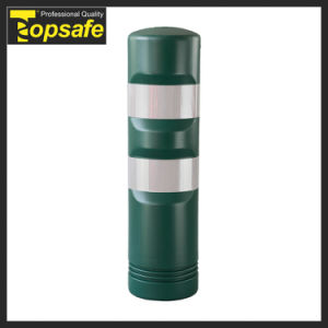 Green Round Bollard Delineator for Park pictures & photos