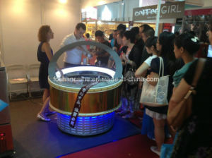 Canton Fair Round Ice Cream Showcase Display pictures & photos