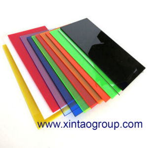 2.5mm and 10mm Clear Extruded Acrylic Sheet