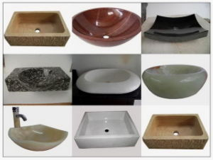 China Natural Marble Kitchen Basin for Countertop pictures & photos