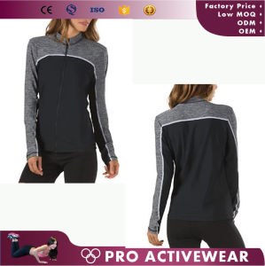 Customized Colors Women Polyester Spandex Windbreaker Jackets pictures & photos