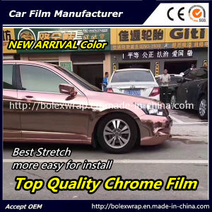 New Color~~Top Quality Glossy Chrome Smart Car Vinyl Wrap Vinyl Film pictures & photos