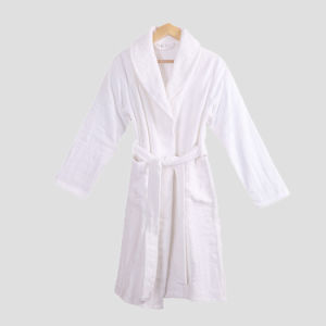 China Supllier Wholesale New Design Customized Size Cheap Hotel Cotton Bathrobe