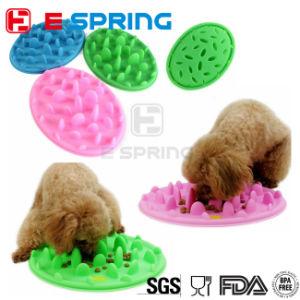Dog Bowl Fun Dog Bowl Slow Feeder Anti-Choking Pet Bowl Large Soft Silicone pictures & photos