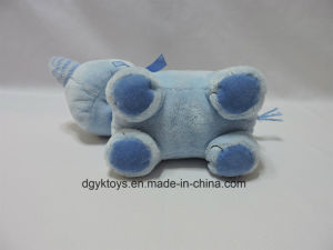 Blue Stuffed Plush Animal Elephant Toy for Baby pictures & photos