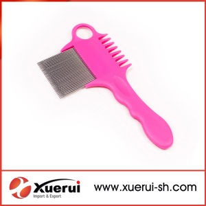 Stainless Steel Needle Hair Nit Lice Comb with Magnifier pictures & photos