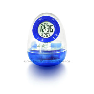 Water Powered Thermometer Clock Without Battery Inside pictures & photos