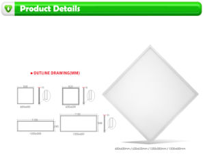 China Factory 36W 620X620 3600lm LED Panel pictures & photos