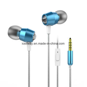 High Quality Metal Earphone with Braided Cable pictures & photos