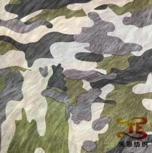 Camouflage Print Children Garment Fabric Print Nylon Taffeta Fabric pictures & photos