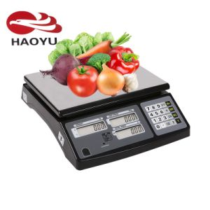 Factory Price Haoyu Electronic Digital Price Computing Scale for Fruits pictures & photos