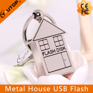 Metal House USB Flash Drive Best Gift for Real Estate Promotion (YT-1245) pictures & photos