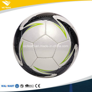 Faultless Long-Lasting Hand-Stitching Soccer Ball pictures & photos