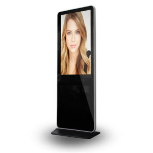 1080P Network Kiosk Super Slim LCD Touch Totem pictures & photos