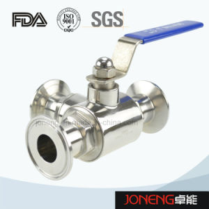 Stainless Steel Sanitary Manual Three Way Ball Valve (JN-BLV1001) pictures & photos