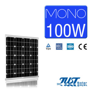 100W Mono Solar Panel with Certification of Ce CQC and TUV