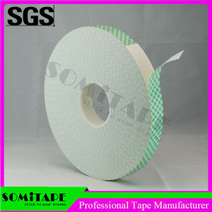 Somi Tape Sh333p Free Sample Self Adhesive Double Sided White PE Foam Tape pictures & photos