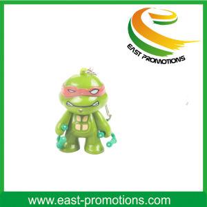 Cartoon Ninja Turtle LED Keychain pictures & photos
