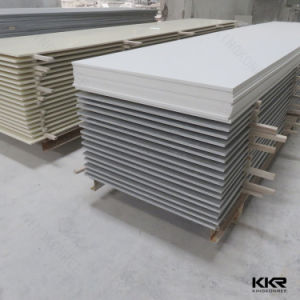 Pure White Decorative Material Stone Solid Surface for Wall Panel pictures & photos