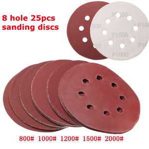 Hook and Loop Sanding Discs 115mm 8 Hole P240 pictures & photos