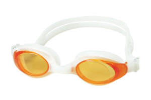 Confortable Silicone One-Piece Swim Goggles pictures & photos