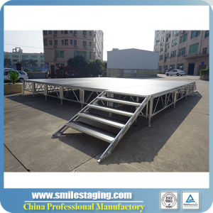 2018 Rk Hot Selling Aluminum Portable Stage Concern Equipment Stage pictures & photos
