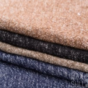 Wool /Cotton Fabric for Autumn /Winter in Black pictures & photos