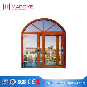 Aluminium Frame Sliding System Window with Tempered Glass pictures & photos