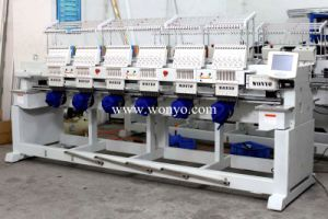 2017 Six Head Computer Best Design and Best Selling Embroidery Machine pictures & photos