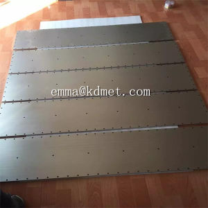 High Purity Tungsten Target Sheet/Tungsten Sheet/ Tungsten Sputtering Target pictures & photos