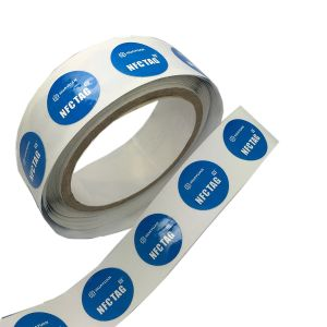13.56MHz printable paper RFID Ntag203 NFC tag pictures & photos