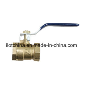 Ilot Threaded Brass Union Ball Cock Valve pictures & photos