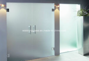 Secure Entrance Glass Door pictures & photos
