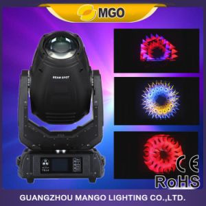 280W 10r Disco Beam Spot Wash 3 in 1 Moving Head Stage DJ Light