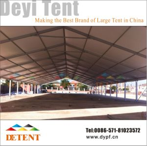 Deyi Exhibition Tent with Glass Wall & Lining pictures & photos
